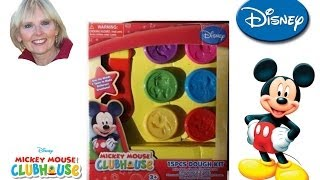 ♥♥ Mickey Mouse Clubhouse 15 Piece Dough Kit