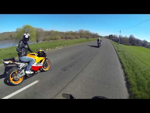 Les motards du Loiret 45 Montargis - Sancerre 16.03.2014 OVERWERK - Daybreak moto GoPro 3+ Black
