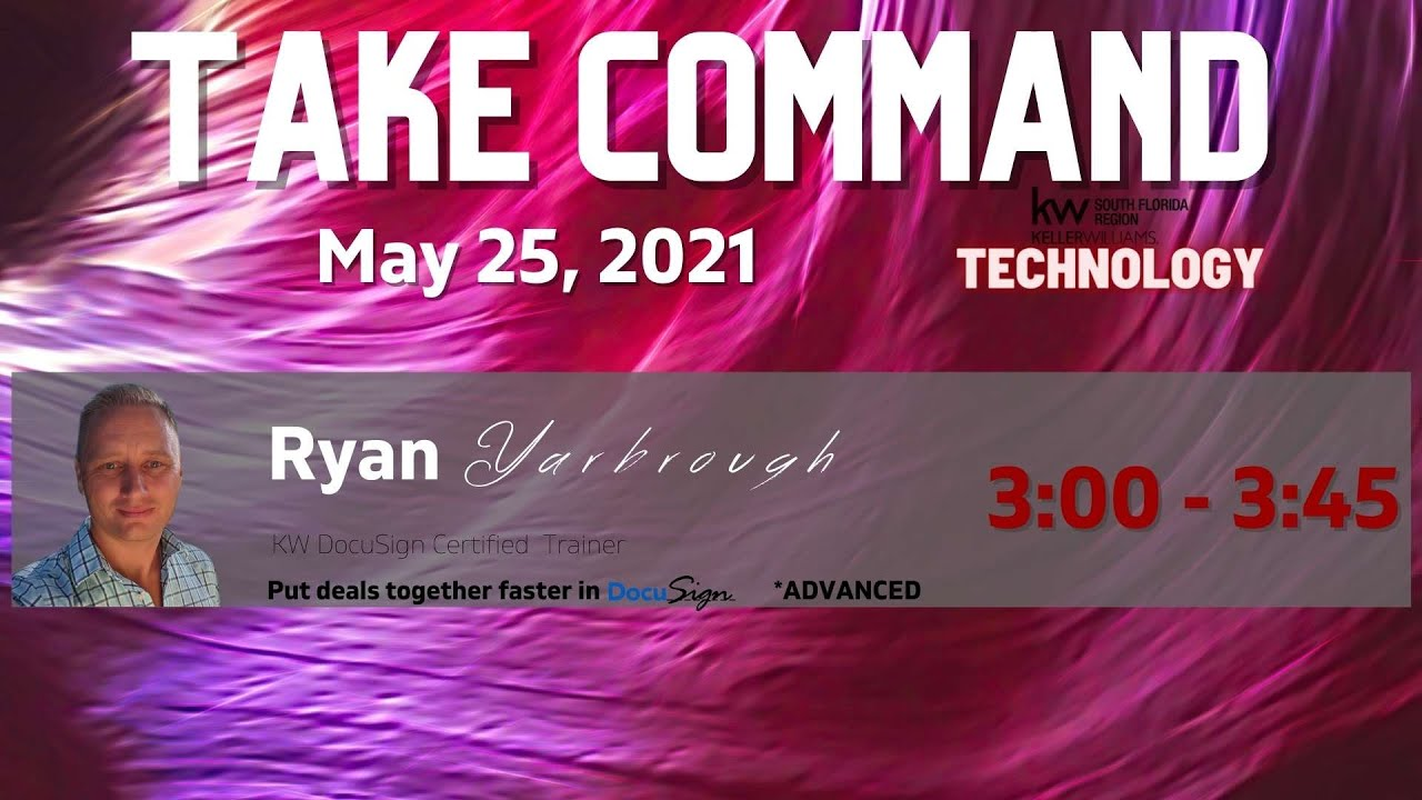 May: Take Command -Advanced DocuSign Tips and Tricks