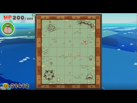All Island Locations In The Great Sea In Paper Mario The Origami