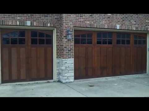 semi custom collection carriage house wood doors clopay