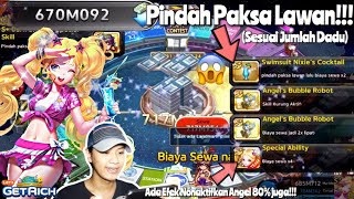 GAMEPLAY S+ SWIMSUIT NIXIE!!! CARD BANKRUPT GG?!!   LINE LETS GET RICH INDONESIA