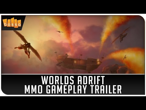 Worlds Adrift: MMO Gameplay Trailer