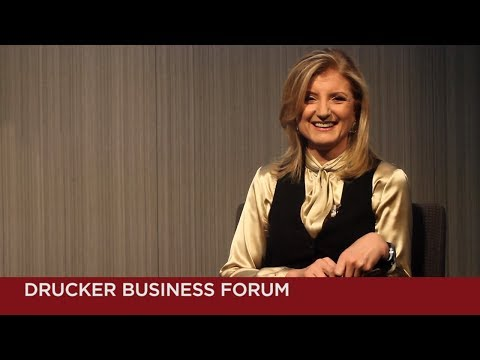 Arianna Huffington in conversation with Art Kleiner