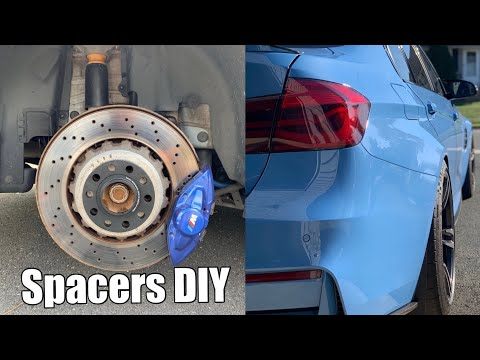 Testing various wheel spacers on a BMW M3 – a DIY Install Guide