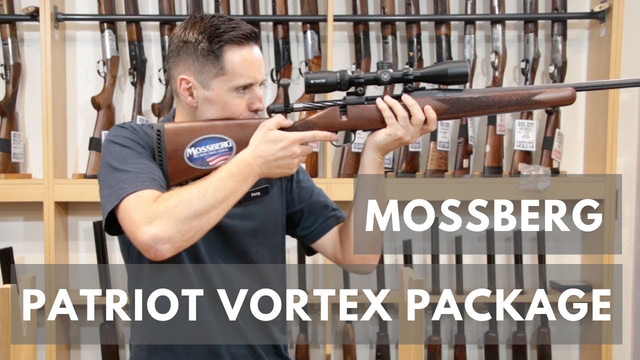 Mossberg Patriot with Vortex Scope Package