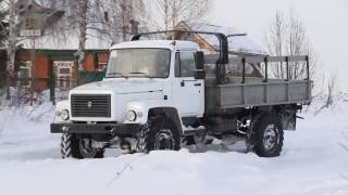 ГАЗ Садко 3308 4x4 Русский Монстр  GAZ Sadko Russian Monster