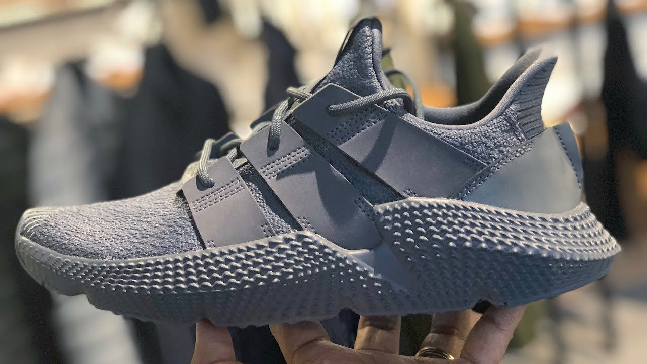 adidas Prophere Tonal Grey (Onyx) On-feet and Review - YouTube 736f41922