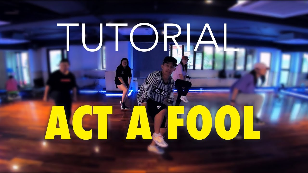 Lil Jon ft. Three 6 Mafia - Act a Fool  / BRYAN TAGUILID Dance Tutorial