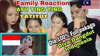 Gambar cover MALAYSIAN REACTION TO AYU TING TING - TATITUT(OFFICIAL MUSIC VIDEO)
