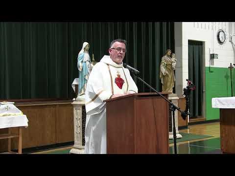 Deacon Matthew Laidley's First Mass