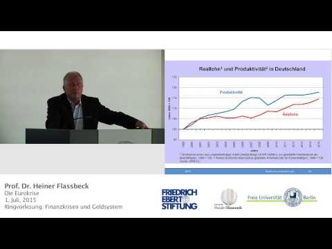 Vortrag zur Eurokrise, Prof. Heiner Flassbeck @FU Berlin, 1. Juli 2015