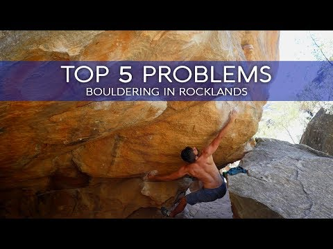 TOP 5 Rocklands Boulder Problems | BlocBusters Highlights in South Africa