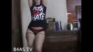 juicy massive white girl booty twerking her hot stuff b4as tv