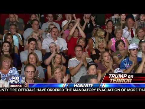 Donald Trump Town Hannity Milwaukee, WI HD News