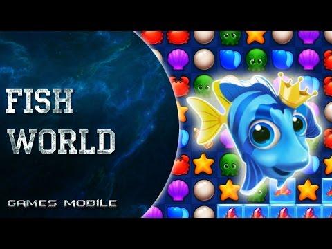 Fish World обзор игры на Android IOS #FishWorld