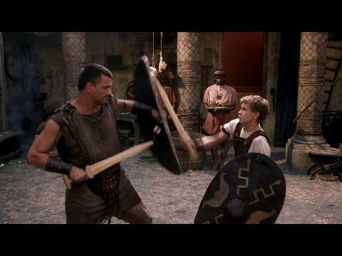 Rome Pullo teaching Octavian to fight HD
