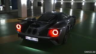 New Ford Gt  Start Up And Acceleration In Geneva