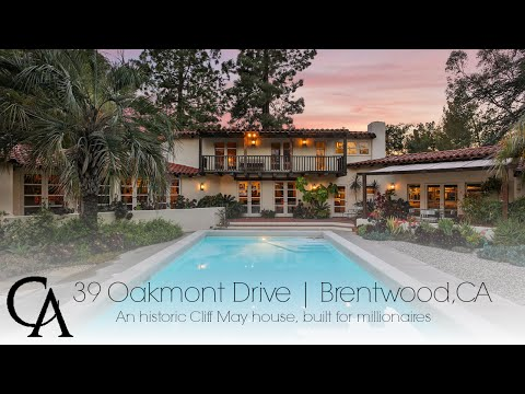 Brentwood Luxury Home for Sale   39 Oakmont Drive