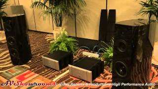Sony loudspeakers, Pass Labs amplifiers, EMM Labs, The Home Entertainment Show Newport