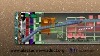 SR 99 tunnelier d'animation (2013)