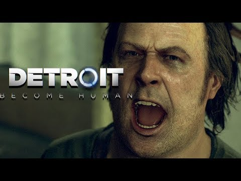 Detroit Become Human Gameplay German #05 - Vater dreht durch