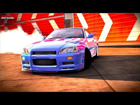 CarX Drift Racing G27 - Comprei um Skyline! #2