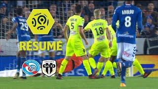 RC Strasbourg Alsace - Angers SCO (2-2)  - Résumé - (RCSA - SCO) / 2017-18