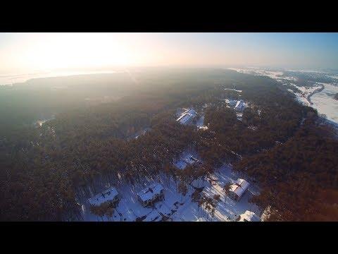 Санаторий Солнечный зимой (Белоруссия - Брест)