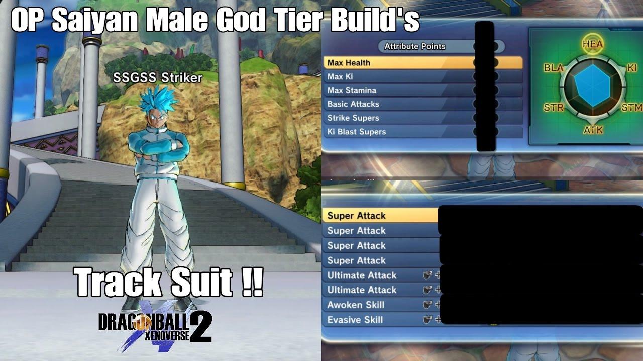 Saiyan God Build Xenoverse