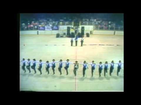 North Syracuse Northmen Winterguard 1980