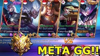 META 5 MM DI MYTHIC!!! GG GILA BOSQUE!