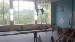 Ганжела Егор - призёр соревнований по прыжковой акробатике