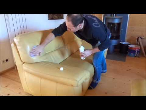 Comment rénover et entretenir un canapé en cuir.