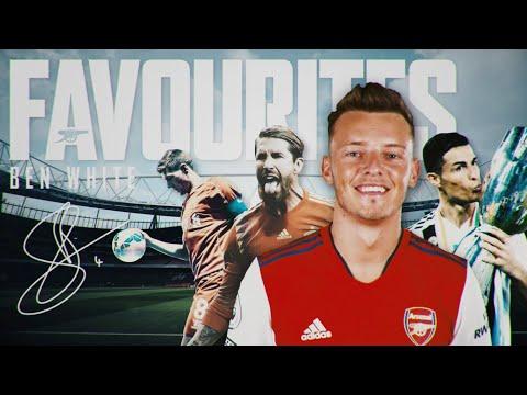 Who is Ben White's favorite footballer?