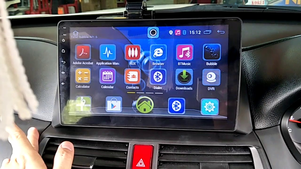 Honda Accord   Inch Android Gps Hd Player With Oem Casing Socket