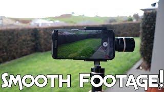 MAKING VIDEOS SMOOTH - FEIYUTECH G4 PRO PHONE GIMBAL!