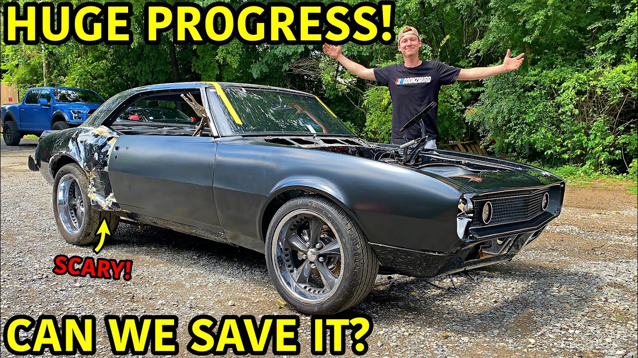 Rebuilding A Wrecked 1967 Chevrolet Camaro SS Part 7