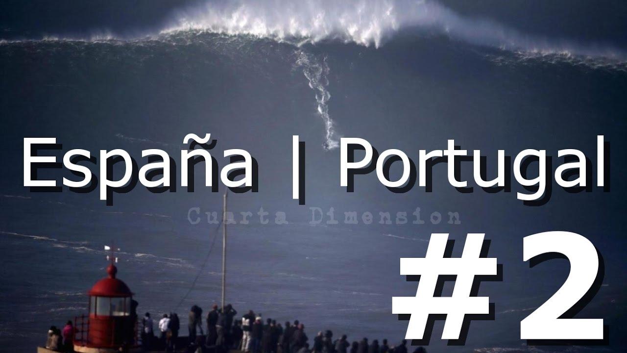 LAS OLAS MAS GRANDES DEL MUNDO JAMAS SURFEADAS | #2 | ESPAÑA | PORTUGAL | NUEVA Selección 2020