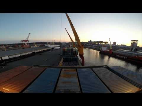 m/v Hollandia Sunset discharge operations Halifax