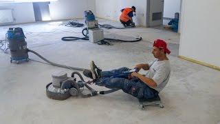 Jak se brousí betonové podlahy bez cenzůry