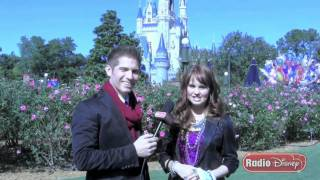 Debby Ryan's Holiday Interview With Radio Disney's Jake - Part 2