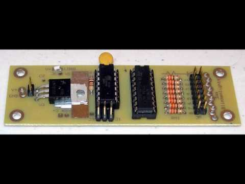 Demonstration of Das BlinkenBoard Kit featured in Nuts and Volts Magazine, June 2009