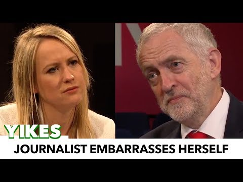 Journalist Embarrasses Herself While Attempting To Smear Jeremy Corbyn