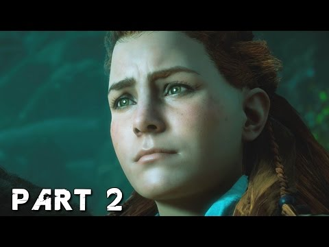 HORIZON ZERO DAWN Walkthrough Gameplay Part 2 - Machines (PS4 Pro)