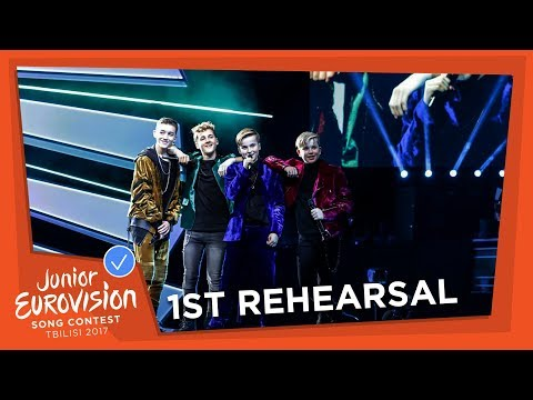 EXCLUSIVE REHEARSAL FOOTAGE - FOURCE - LOVE ME - THE NETHERLANDS 🇳🇱 - JUNIOR EUROVISION 2017