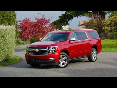 2015 Chevrolet Suburban LTZ Car Review