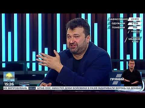 """Програма """"Акценти"""" від 31 травня. Гості - Валерій Димов та Олексій Голобуцький"""