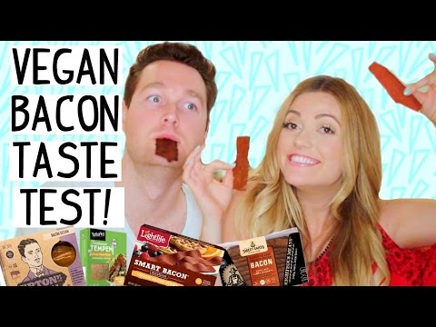 VEGAN BACON TASTE TEST!