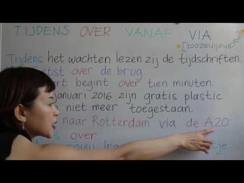 LEARN DUTCH/ NETHERLANDS & INDONESIAN/ BAHASA INDONESIA [IN ENGLISH] #52 DURING ACROSS IN SINCE VIA